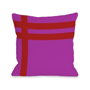 Meeting Stripesu00a0Throw Pillow
