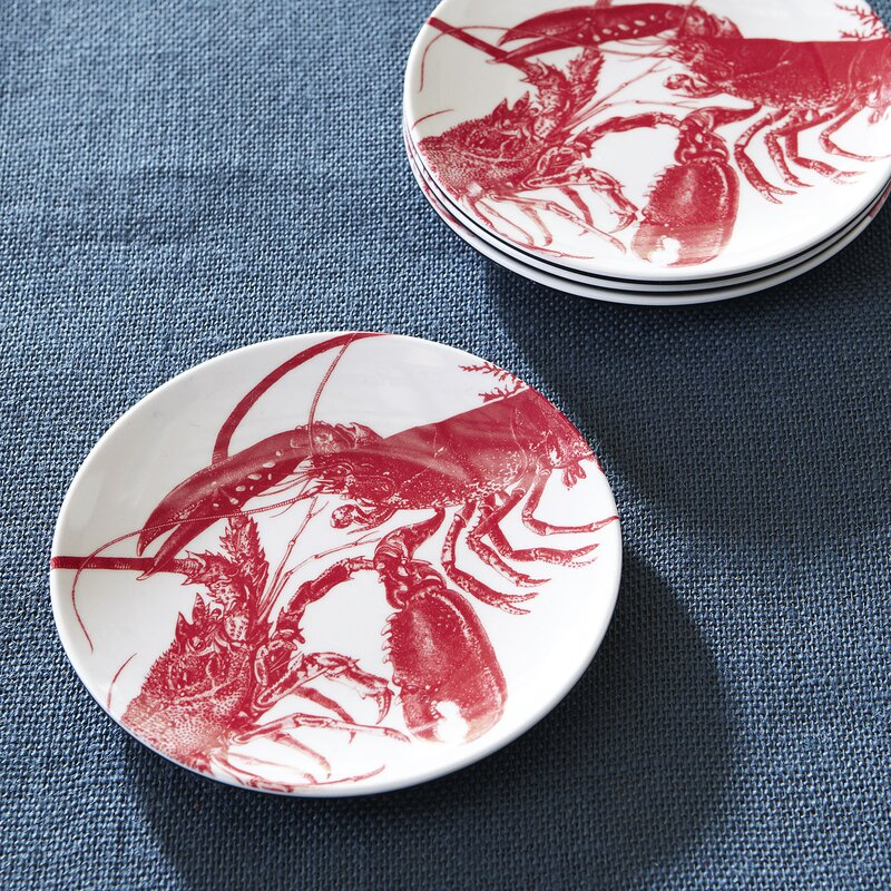 Goshen Wellfleet Canape Appetizer Plates
