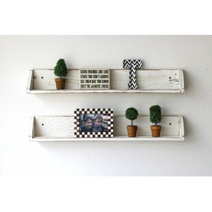 Bentley Floating Shelf (Set of 2) by August Grove