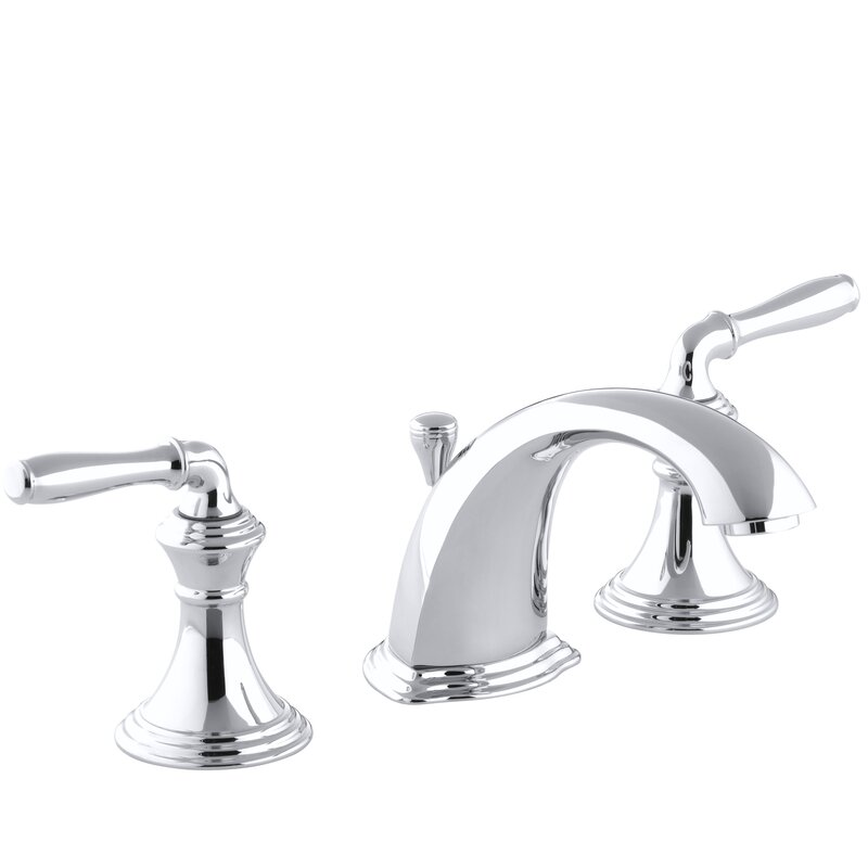 devonshire standard bathroom faucet double handle with drain assembly