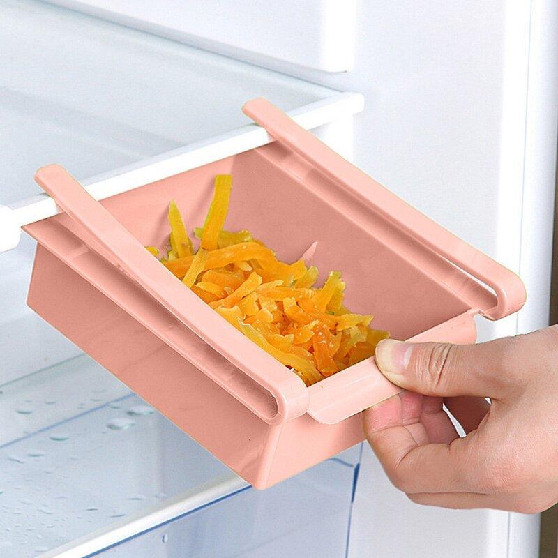 Slide Kitchen Fridge Food Storage Container
