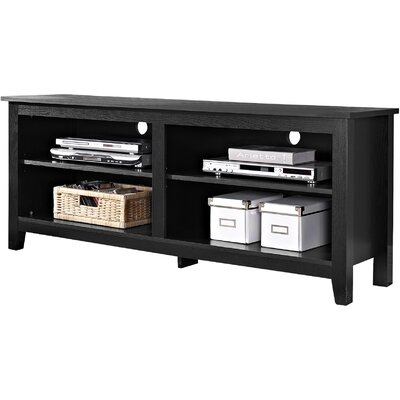 Beachcrest Home Sunbury TV Stand for TVs up to 60 Color: Black