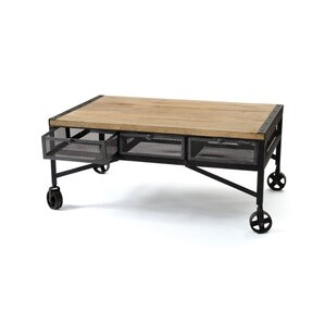 Chantal Coffee Table with Magazine Rack by Trent Austin Design