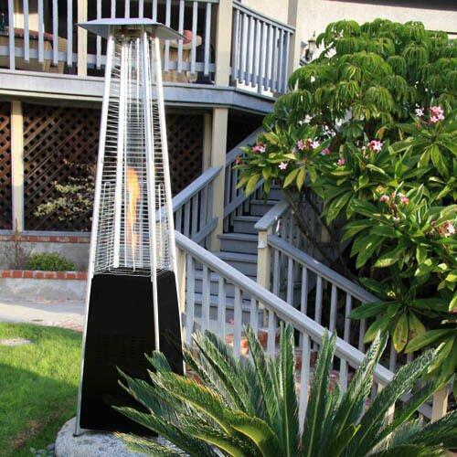 pyramid outdoor patio heater grp4000bk. garden radiance dancing flames pyramid outdoor 34,000 btu propane patio heater \u0026 reviews   wayfair.ca grp4000bk