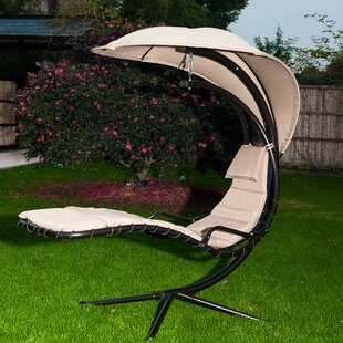 Farmington Hanging Chaise Lounger with Stand by Freeport Park