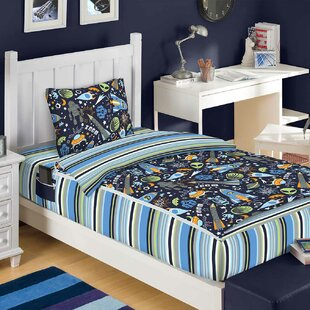 Audrey Outer Space Reversible Bed In A Bag Set