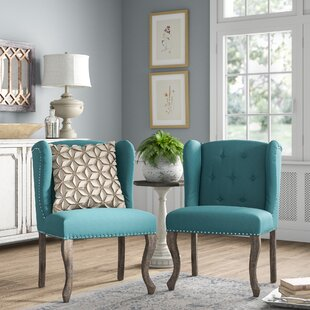 Soan Wingback Chair (Set of 2) by Lark Manor
