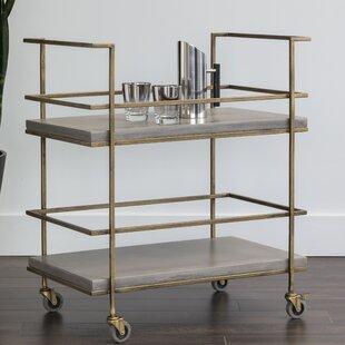 Belinda Bar Cart by 17 Stories