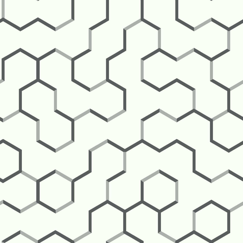 Lillian 16 5 L X 20 5 W Geometric Peel And Stick Wallpaper Roll Reviews Allmodern