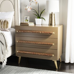 Beaverton 3 Drawer Chest by Bloomsbury Market Best #1
