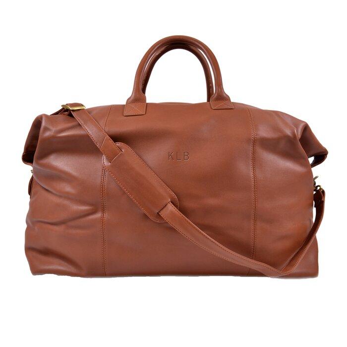Royce Leather Harrison Leather Duffel  d880f7986c797