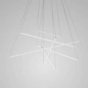 Spillo 1-Light Geometric Chandelier by ZANEEN design