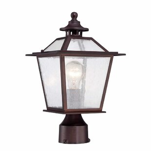 Best Reviews Bruggeman Outdoor 1-Light Lantern Head By Three Posts