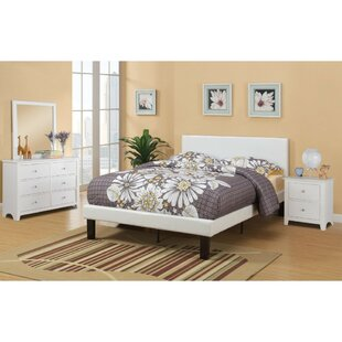 Garces Twin Upholstered Panel Bed