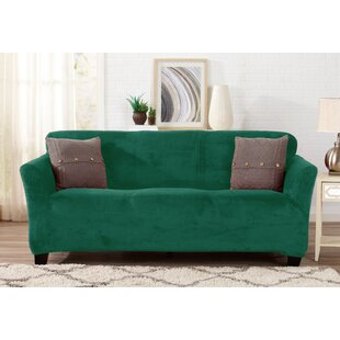 Green Sofa Slipcovers You\'ll Love | Wayfair