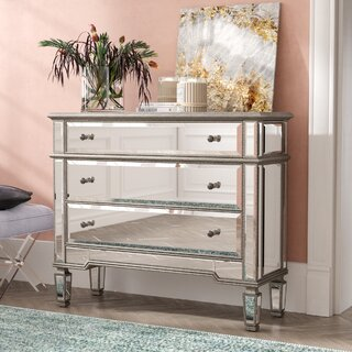 Ake 3 Drawer Accent Chest by Willa Arlo Interiors SKU:BE357474 Information