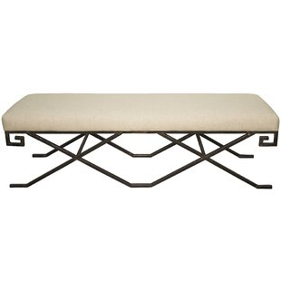 Noir Ming Upholstered Bench