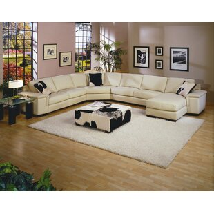 Omnia Leather Mercedes Leather Sectional