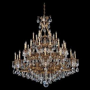 Schonbek chandeliers youll love wayfair sophia 35 light chandelier by schonbek aloadofball Choice Image