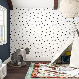 Akil 16 5 L X 20 W Polka Dot And Stick Wallpaper Roll