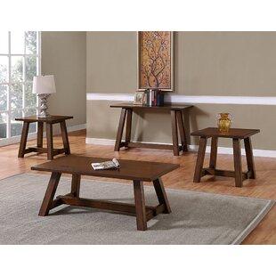 August Grove Keturah 3 Piece Coffee Table Set