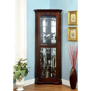 Astoria Grand Baysden Corner Curio Cabinet