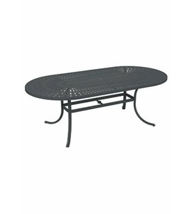 La'Stratta Aluminum Dining Table