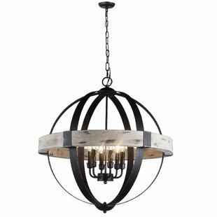 Stepney 4-Light LED Globe Chandelier
