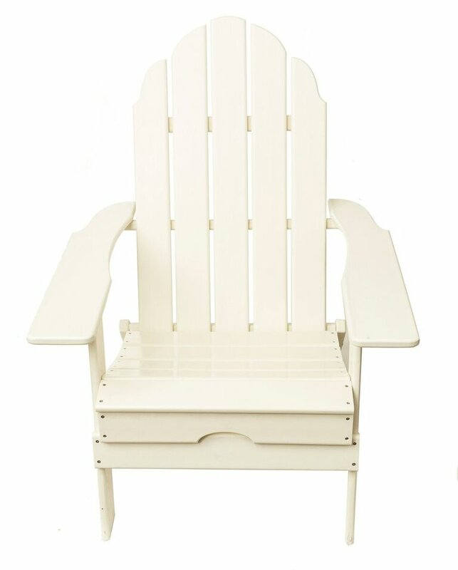 Quinault Recycled Plastic Poly Adirondack Chair