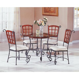Jordan 5 Piece Dining Set by Fleur De Lis..