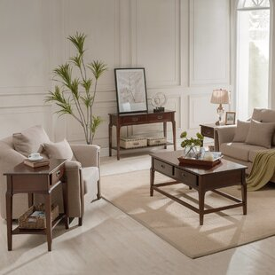 Charlton Home Jacobsen 3 Piece Coffee Table Set