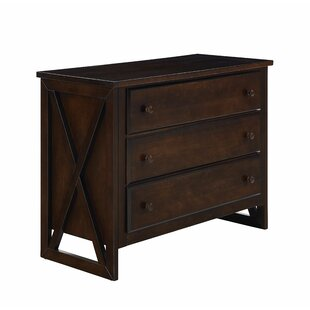 Southport 3 Drawer Standard Dresser by Harriet Bee