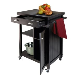 Timber Kitchen Cart by Luxury Home