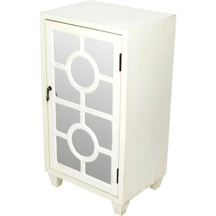 Lark Manor Garance Wooden 1 Door Accent Cabinet