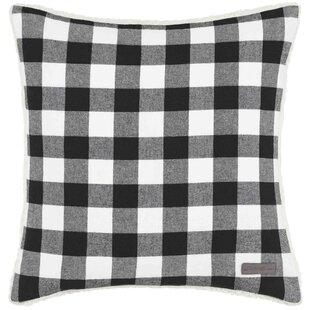 b9e5a92a89e Cabin Plaid 100% Cotton Throw Pillow