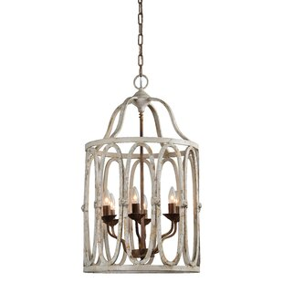 Grandfield 6-Light Lantern Pendant by Gracie Oaks