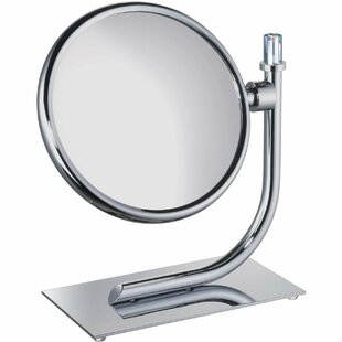 Evenson Round Makeup/Shaving Mirror By Red Barrel Studio