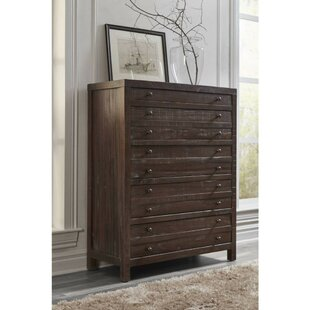 Box Solid Hardwood 9 Drawer Chest