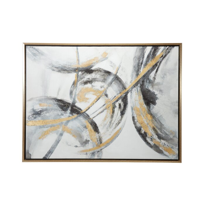 Abstract Picture Frame Painting Print On Canvas