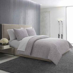 Vera Wang Textured Roses Reversible Comforter Set