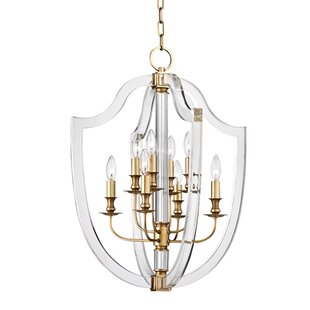 Elishia 8-Light Geometric Chandelier by Willa Arlo Interiors