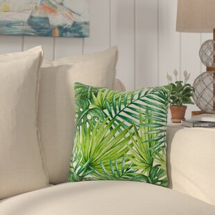 Collier Palm Leaves Outdoor Throw Pillow