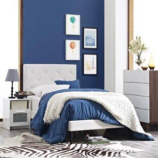 Perrinton Upholstered Platform Bed by Ebern Designs