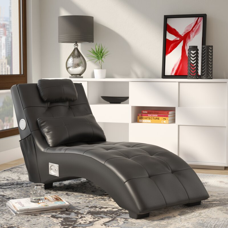 chair chaise foter brown explore lounge leather