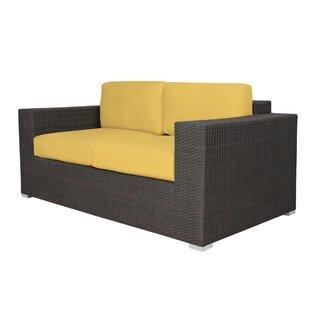 Brayden Studio Ropp Loveseat with Cushions