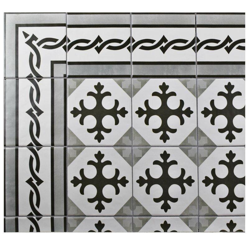 Haute 5 88 X Ceramic Field Tile In Charcoal Gray