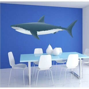 Colorful Shark Wall Decal