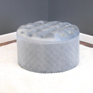 Best Deals Westbrooks Tufted Ottoman By Willa Arlo Interiors