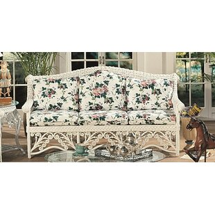 Mathys Traditional Wicker Sofa by August Grove
