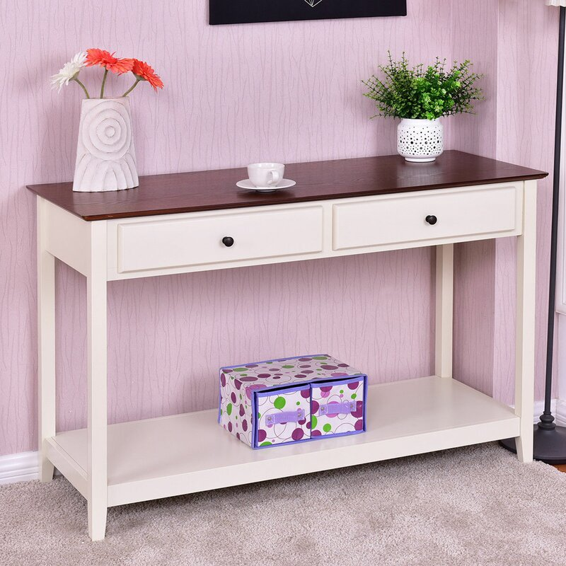 Boxford Shelf Entryway Living Room Console Table